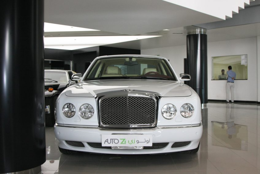 White Used Bentley Arnage at autoz Qatar