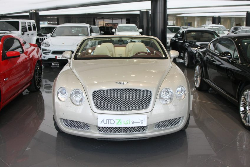 Used Bentley Continental sedan at auotz Qatar