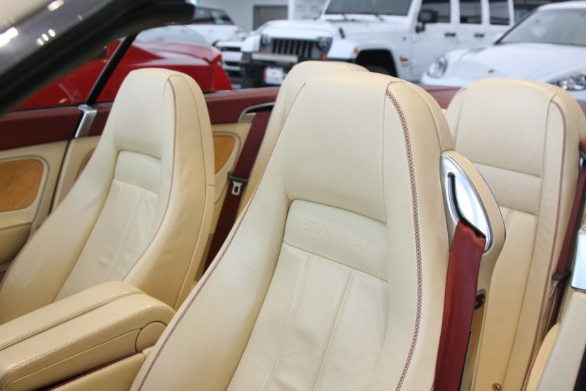 Used Bentley Continental sedan interior at autoz Qatar