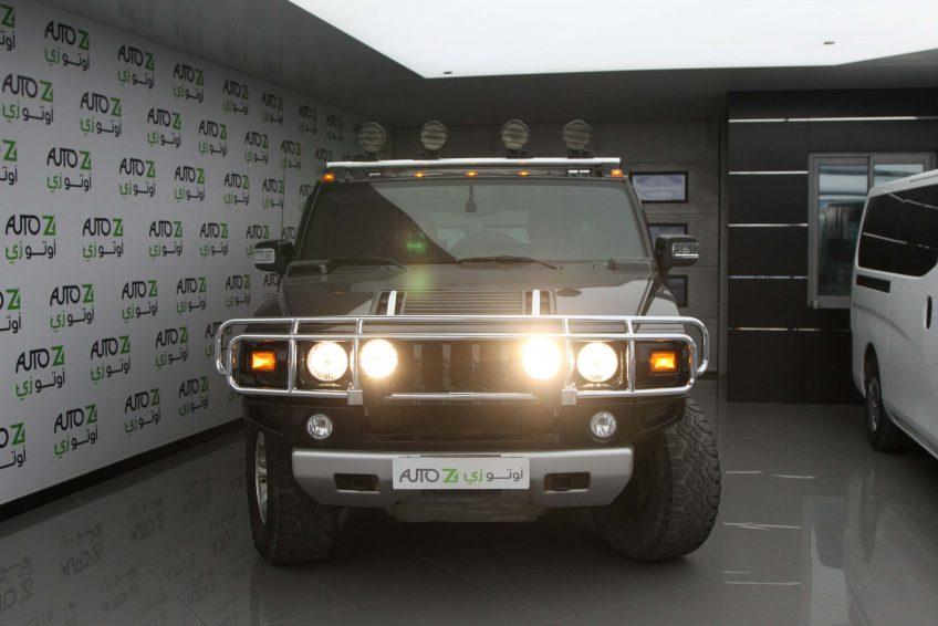 هامر اتش 2 مستعملة في اوتوزي قطر