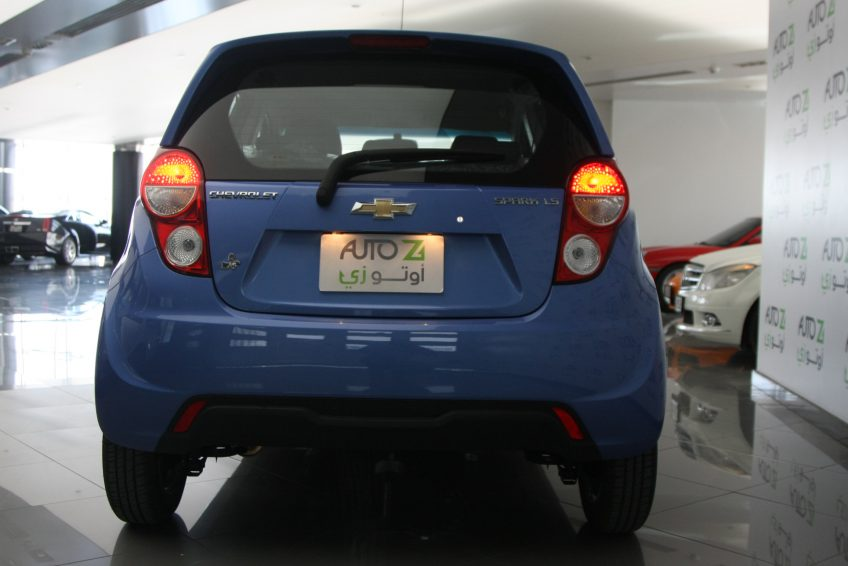 Chevrolet Spark 2015 from the back