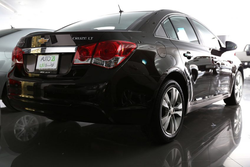 Chevrolet Cruze LT V4 2013 from the back