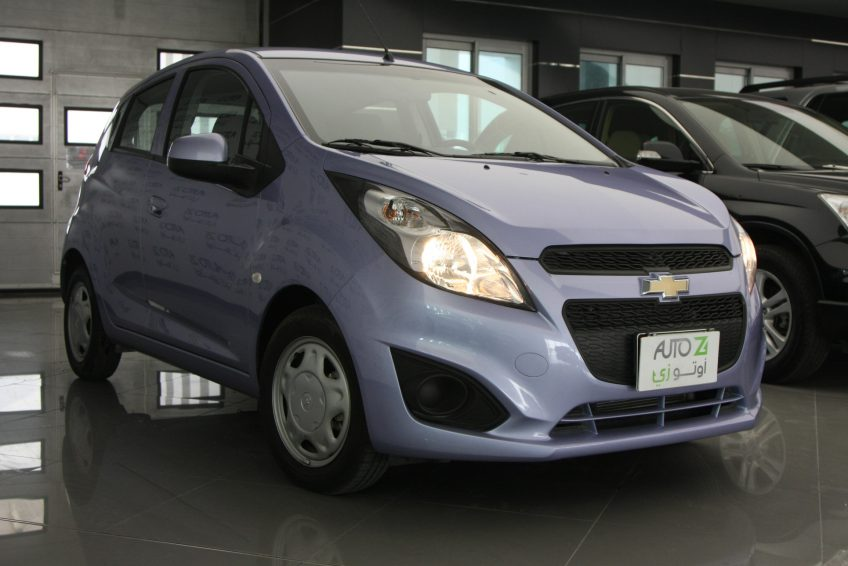 Blue Chevrolet Spark 2015 at autoz