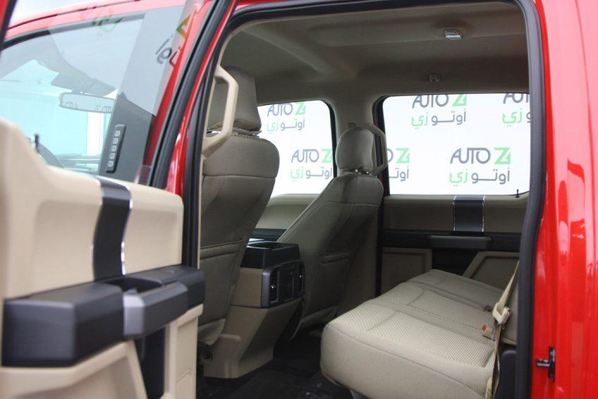 فورد ف 150 مستعملة حمراء من الداخل في اوتو زي قطر