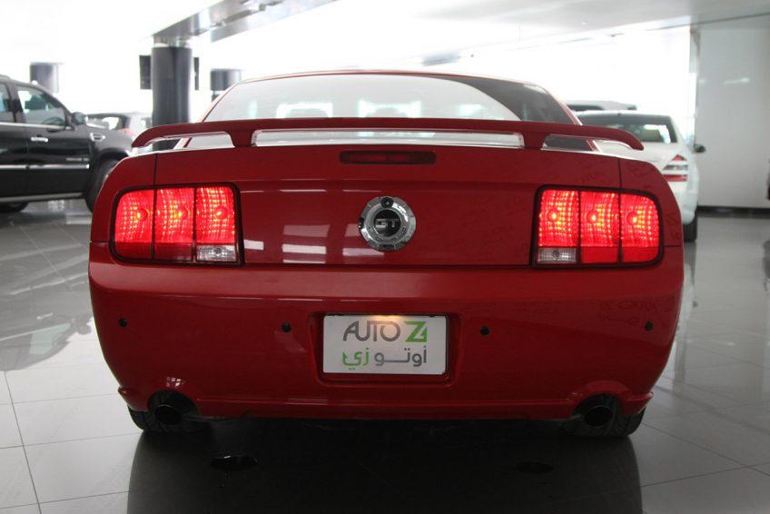 فورد موستانج GT 2009 في اوتو زي قطر من الخلف