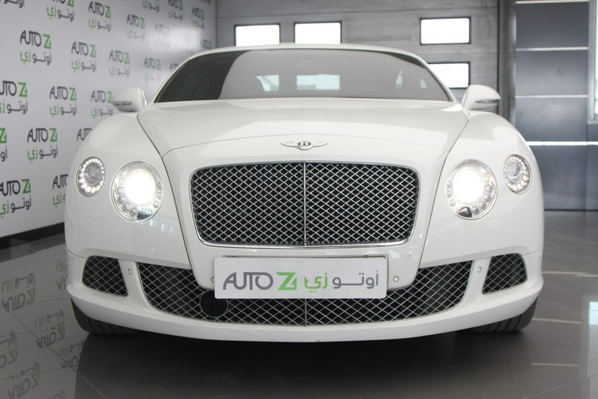 Used V12 Bentley Continental GT at atuoz Qatar
