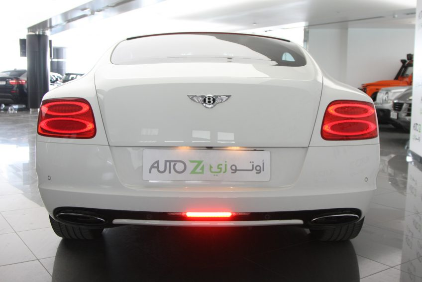Used V12 Bentley Continental GT from the back