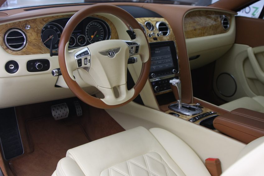 Used V12 Bentley Continental GT interior