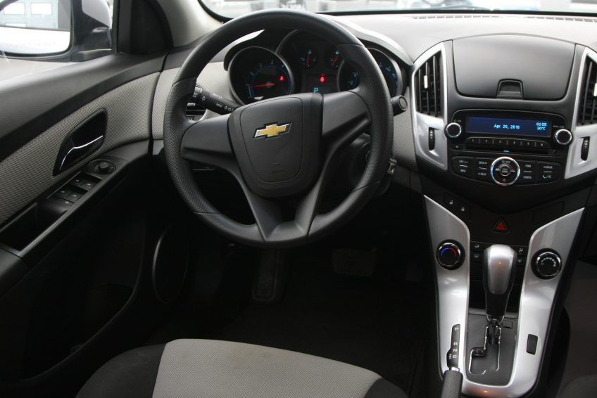 Grey Chevrolet Cruze LS 2013 interior