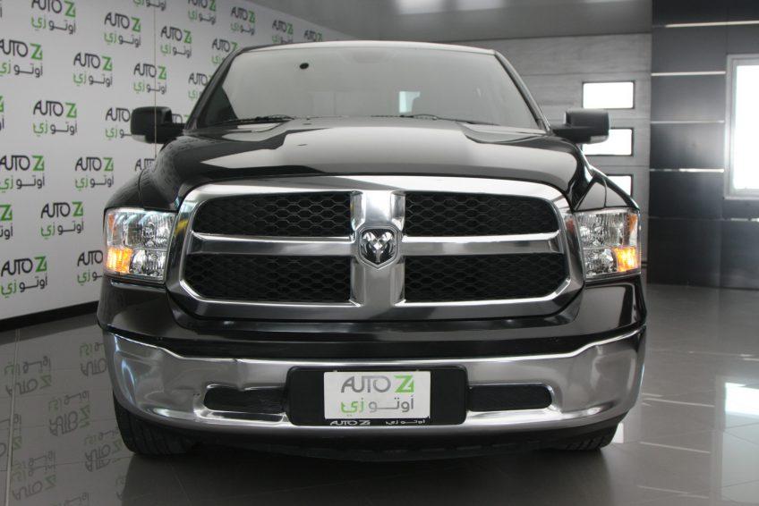 Black Dodge Ram 1500 at autoz Qatar