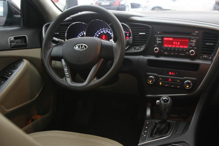المقصورة الأمامية لسيارة كيا اوبتيما مستعملة من اوتو زي قطر
