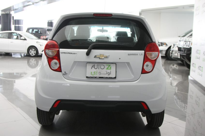 New Chevrolet Spark 2015 at autoz from the back