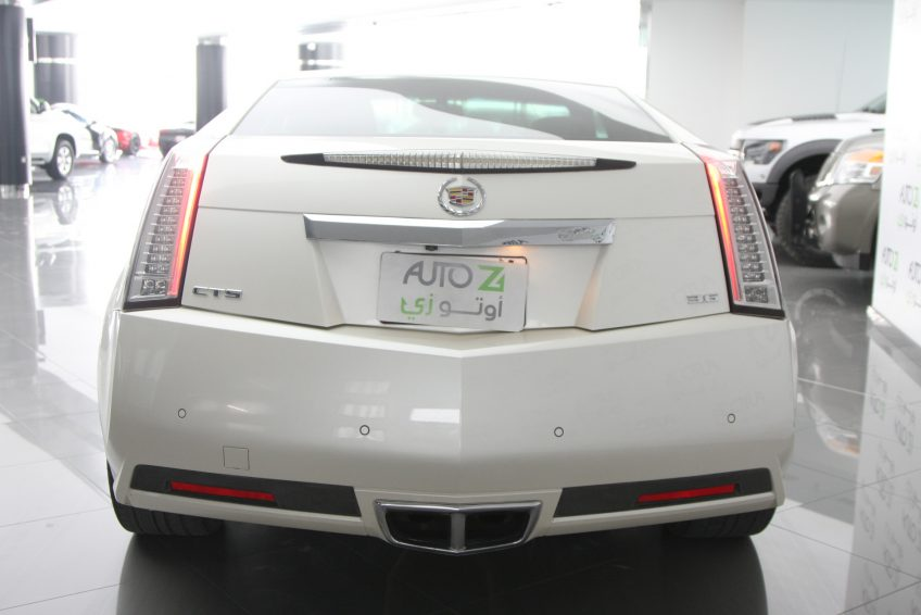 used Cadillac CTS V6 from the back at autoz qatar