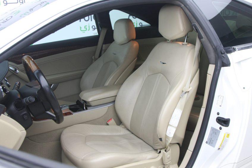 used Cadillac CTS V6 interior