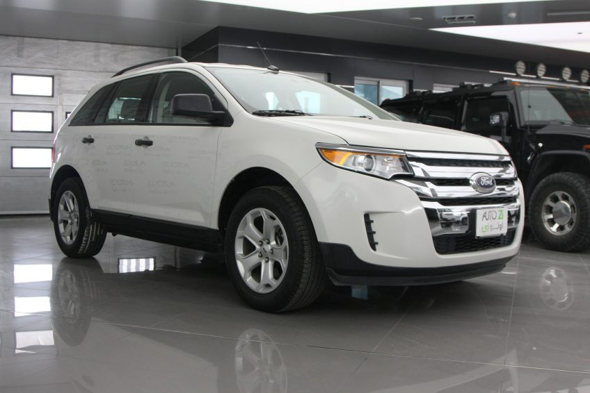Used White Ford Edge at autoz Qatar