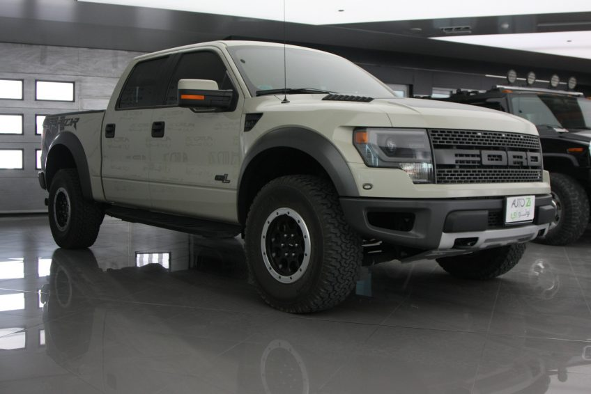 Used Ford F-150 Raptor SVT at autoz Qatar