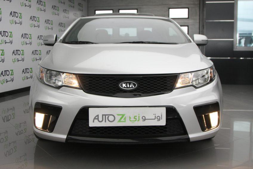 صورة أمامية لسيارة كيا سيراتو كوبيه من اوتو زي قطر