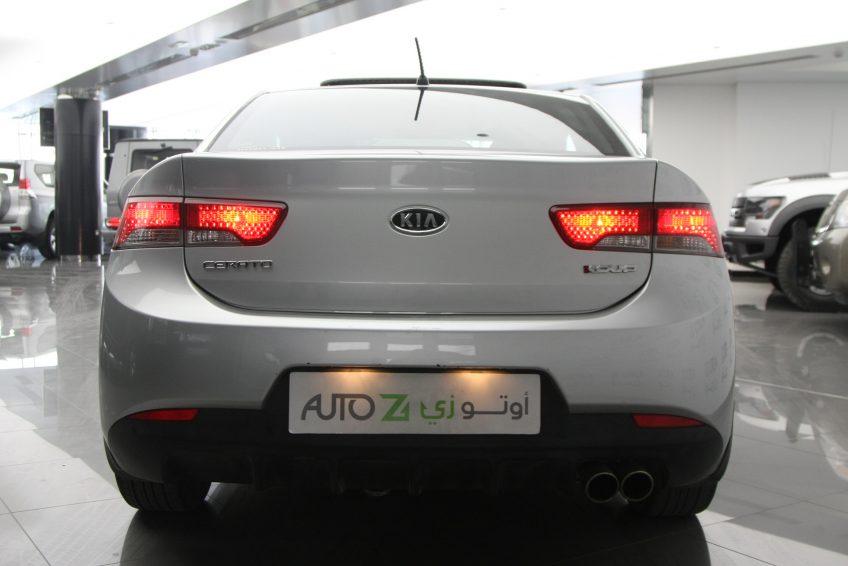 صورة خلفية لسيارة كيا سيراتو كوبيه من اوتو زي قطر