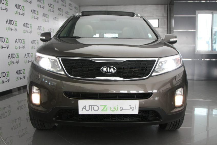 صورة أمامية لسيارة كيا سورينتو مستعملة من اوتو زي قطر