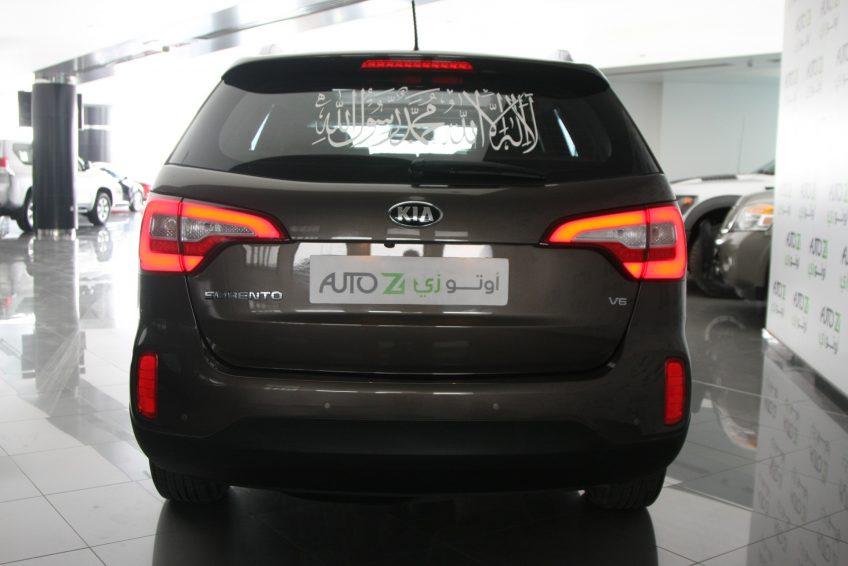 صورة خلفية لسيارة كيا سورينتو مستعملة من اوتو زي قطر