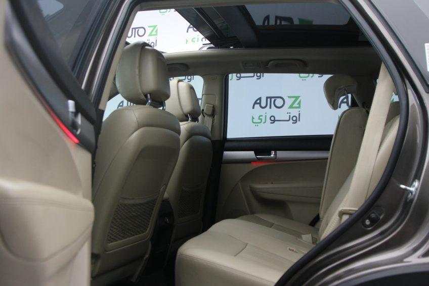 المقاعد الخلفية لسيارة كيا سورينتو مستعملة من اوتو زي قطر
