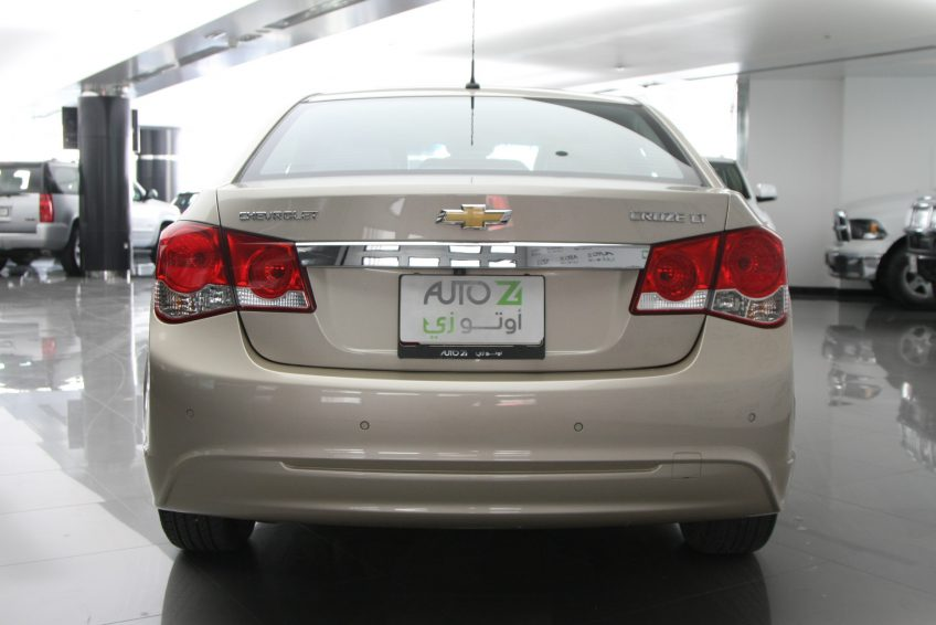 Chevrolet Cruze LT 2013 from the back
