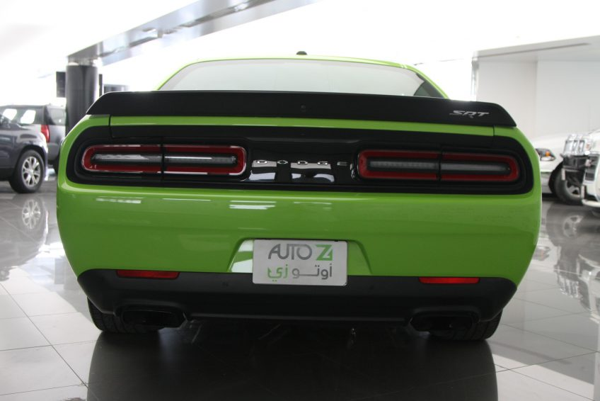 Used Dodge Challenger SRT Hellcat from the back