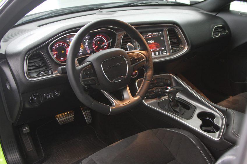 Used Dodge Challenger SRT Hellcat dashboard