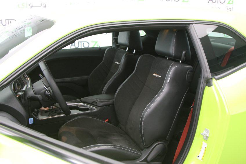 Used Dodge Challenger SRT Hellcat interior