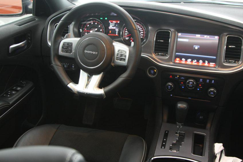 Dodge Charger SRT-8 V8 dashboard