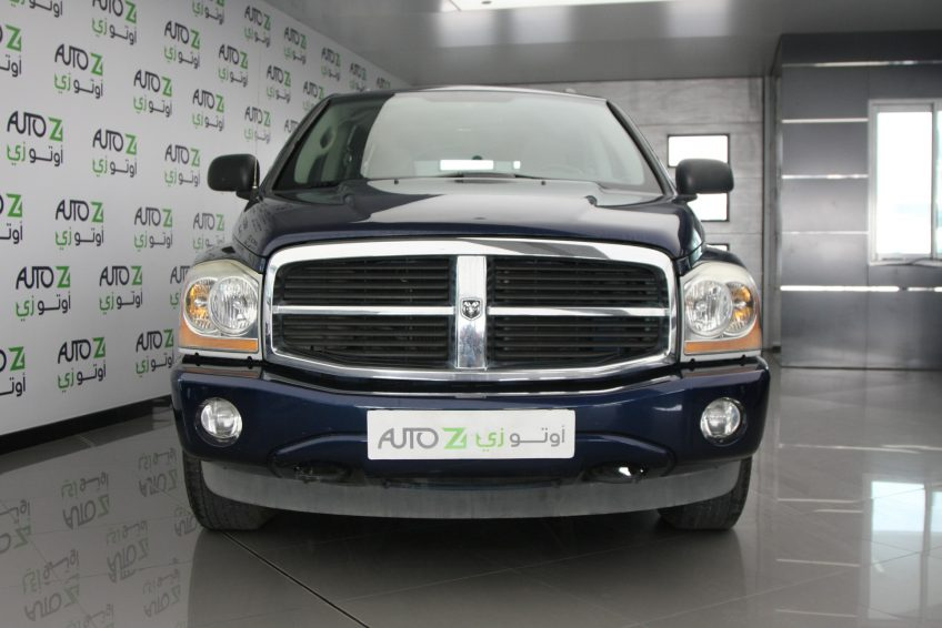 Blue Dodge Durango SLT at autoz Qatar