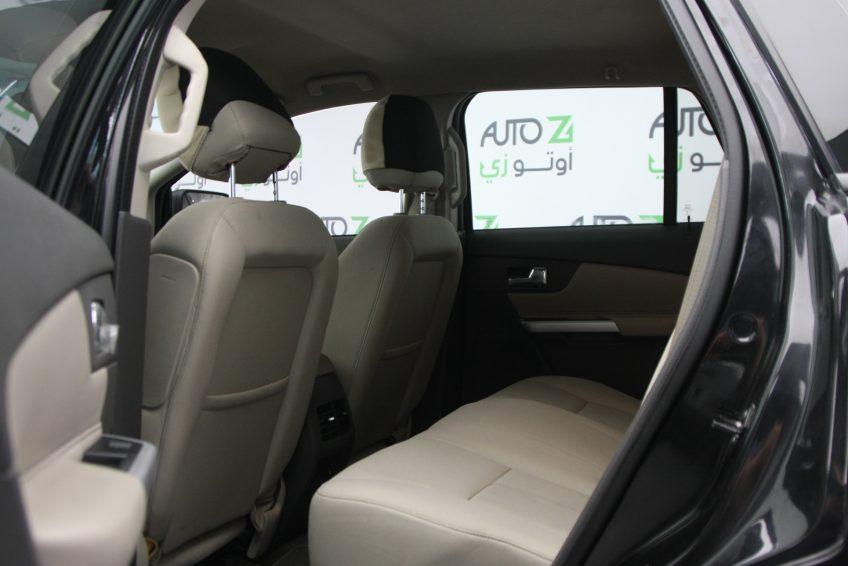 New Black Ford Edge V8 interior