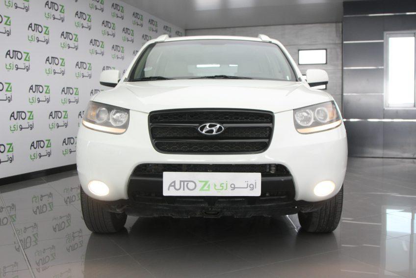 صورة أمامية من سيارة هيونداي سنتافي مستعملة من اوتو زي قطر