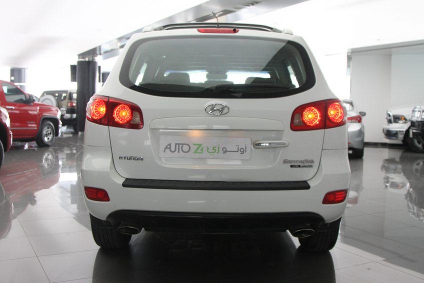 صورة شنطة سيارة هيونداي سنتافي بيضاء مستعملة من اوتو زي قطر