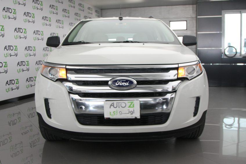 Used White Ford Edge At Autoz Qatar