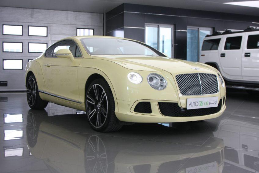 Bentley Continental GT 2012 at autoz