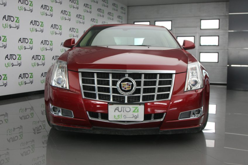 Red Used Cadillac CTS at autoz Qatar