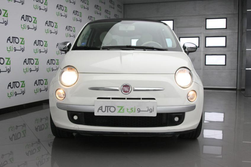 Used White Fiat 500 at autoz Qatar