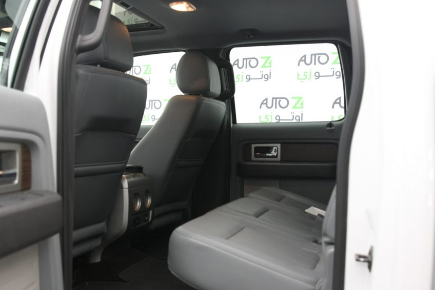 Used White Ford F-150 interior
