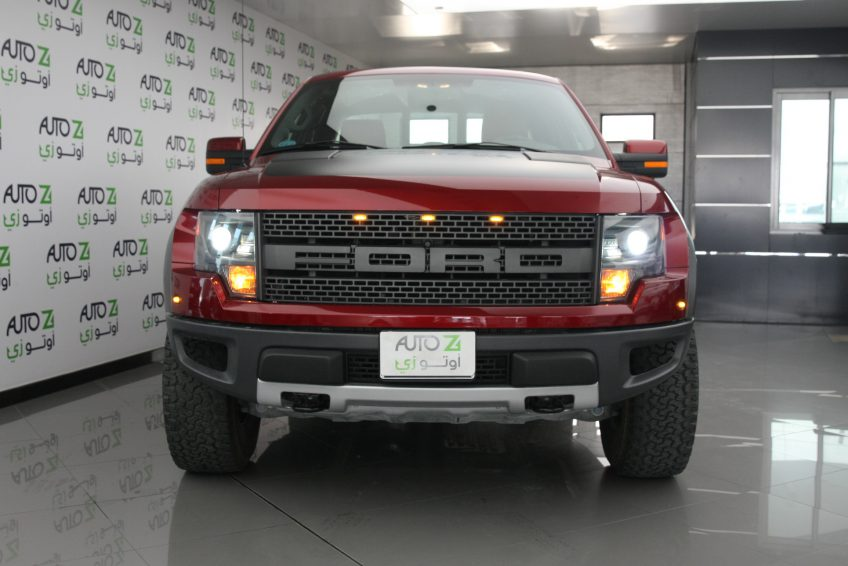 New Red Ford Raptor V8 at autoz Qatar