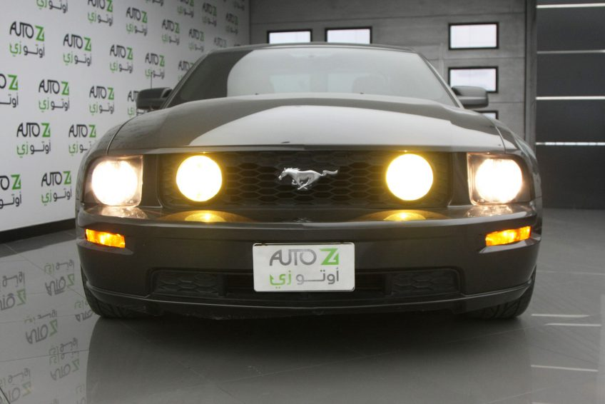 Used Black Ford Mustang GT at autoz Qatar