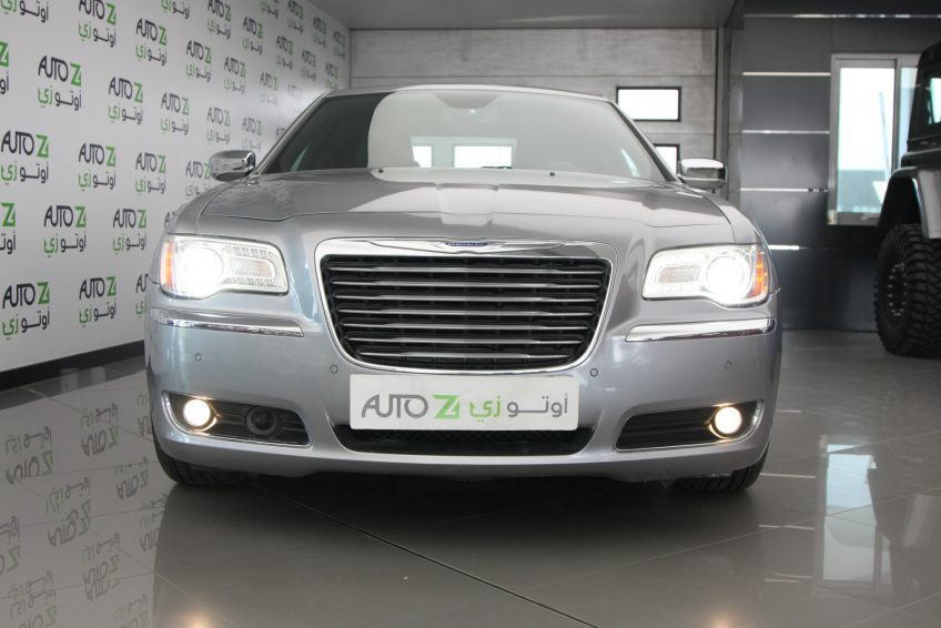 New Grey Chrysler 300C at autoz Qatar