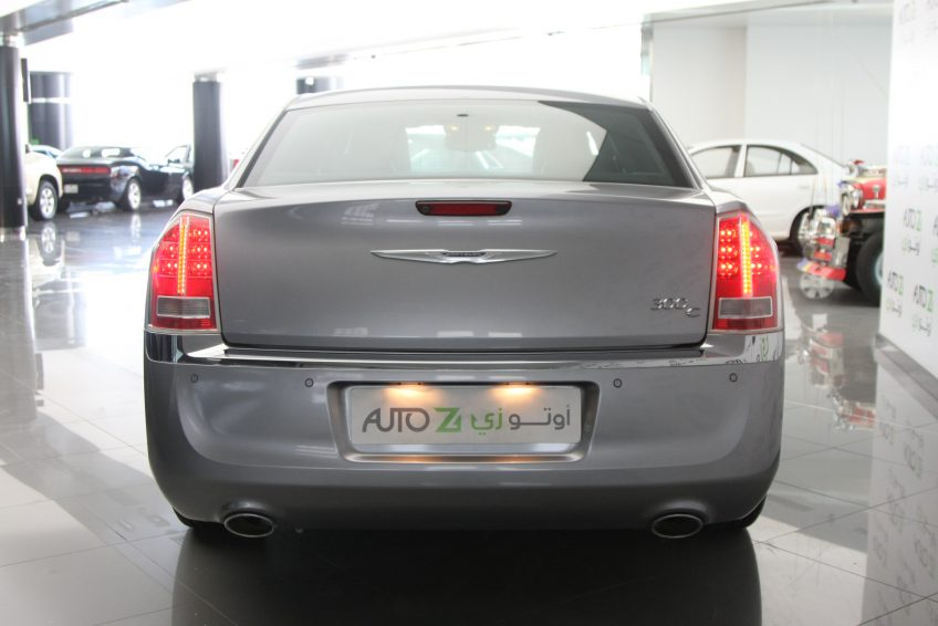 New Grey Chrysler 300C from the back