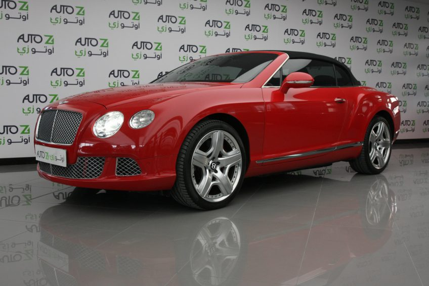Bentley GTC W12 Speed 2013 at autoz