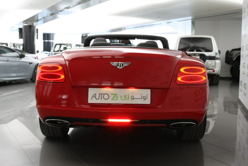Bentley GTC W12 Speed 2013 from the back