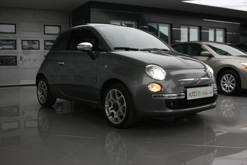 Used Grey Fiat 500 at autoz Qatar