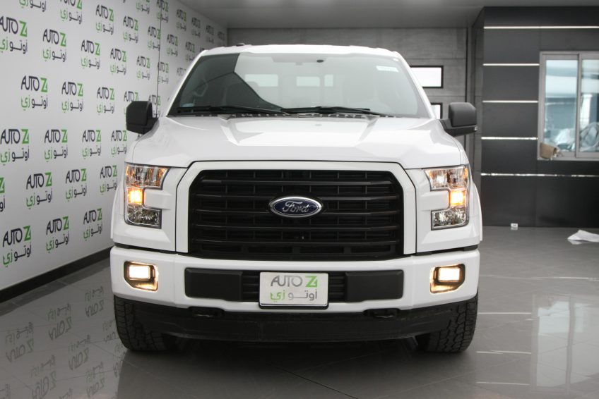 New White Ford F150 XLT at autoz Qatar