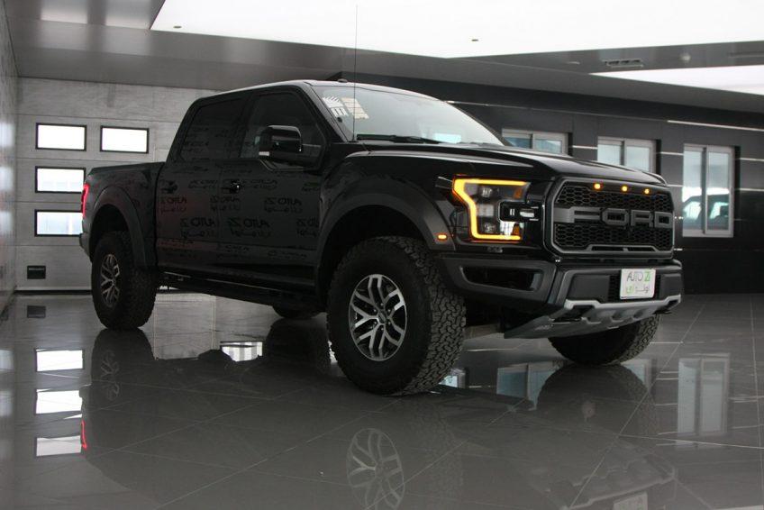 New Black Ford Raptor V6 at autoz Qatar