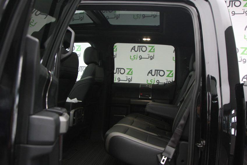 New Black Ford Raptor V6 interior