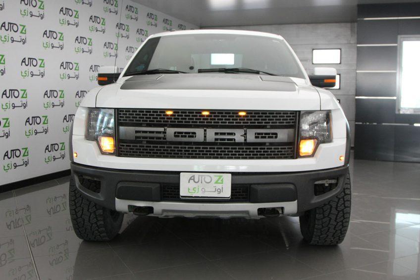 White used Ford Raptor SVT at autoz Qatar